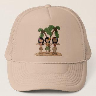 Island Dancing Girls Trucker Hat