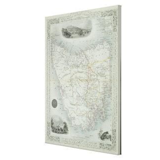 Island de Van Diemen o Tasmania, de una serie de Impresion En Lona