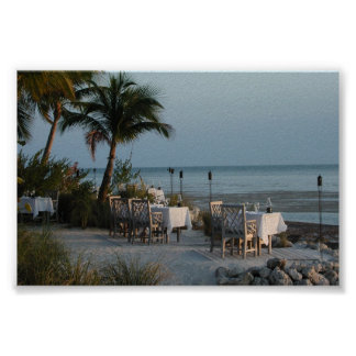 Island Dining Poster