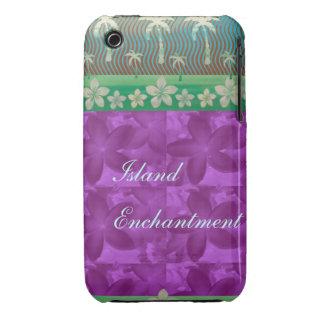 Island Enchantment Purple iPhone 3 Case