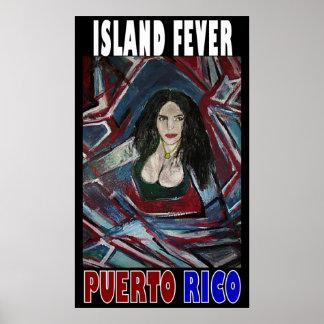 ISLAND FEVER PUERTO RICO POSTER