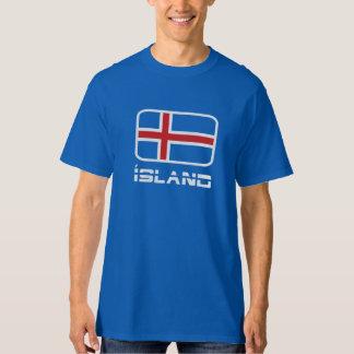 Ísland Flag T-Shirt