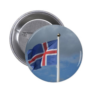 Island Flagge Buttons