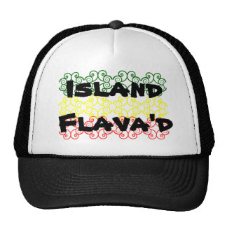 Island Flava'd Trucker Cap Trucker Hat