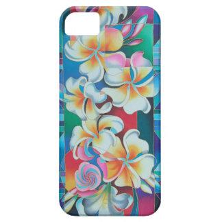 """ISLAND FLOWERS ~ FRANGIPANI"" iPhone SE/5/5s CASE"