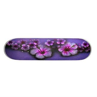 Island Flowers Skate Deck