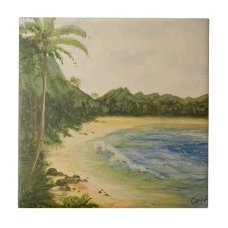Island Getaway Landscape Tile