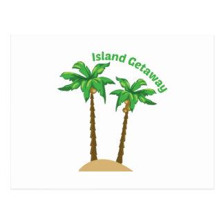 Island Getaway Postcard