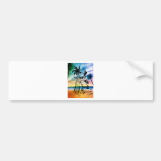 ISLAND GIRL 1.jpg Bumper Sticker