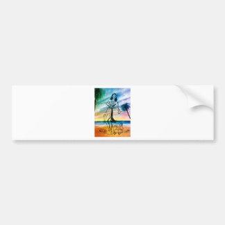 ISLAND GIRL 2.jpg Bumper Sticker