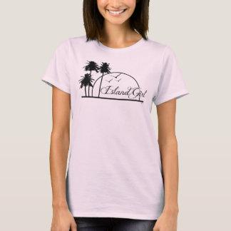 """Island Girl"" Baby Doll Fitted Tshirt"
