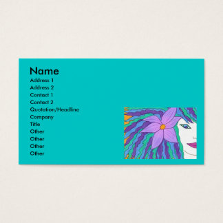Island Girl Business Card Template