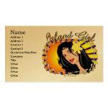 Island Girl  Business Cards