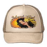 Island Girl Mesh Hats