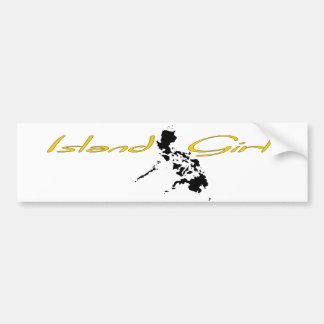 Island Girl - Philippines Bumper Stickers