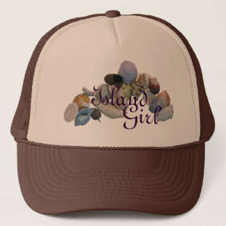 ISLAND GIRL TRUCKER HAT