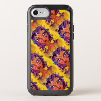 Island Girl with Butterflies on iPhone 8/7/6 Case