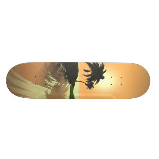 Island Gold Skateboard Deck