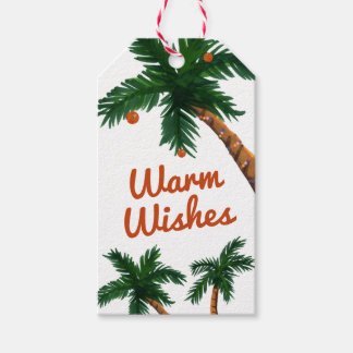 Island Greeting Gift Tags