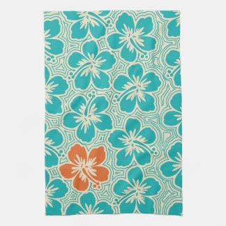Island Hibiscus Hawaiian Kitchen Towel