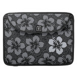 Island Hibiscus Hawaiian MacBook Flapped Case Sleeves For MacBook Pro