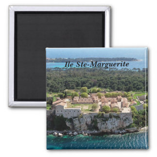 Island-Holy-Marguerite - 2 Inch Square Magnet
