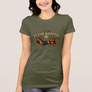 Island Hoppers Monotone-style design T-Shirt