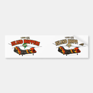 Island Hoppers Simple Design Car Bumper Sticker