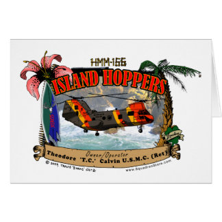 Island Hoppers Simple Design Cards
