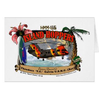 Island Hoppers Simple Design Card