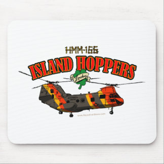 Island Hoppers Simple Design Mouse Pad