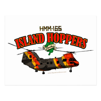 Island Hoppers Simple Design Post Card