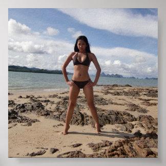 Island hopping - Boracay, Philippines Poster
