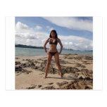 Island hopping postcard