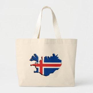 Ísland , Iceland, Jumbo Tote Bag