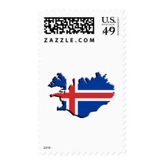 Ísland , Iceland, Postage Stamp