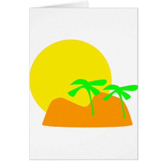 island icon card