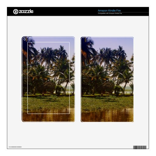 Island in backwaters kindle fire skins