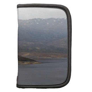 Island in middle of Loch and rugged outdoor Folio Planner