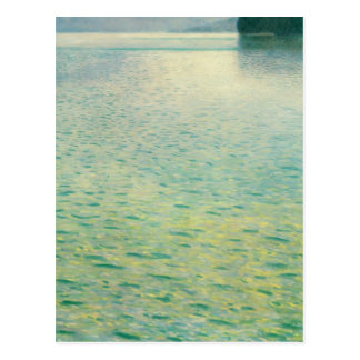 Island in the Attersee by Gustav Klimt Postcards