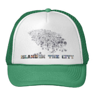Island in the City official swag! Trucker Hat
