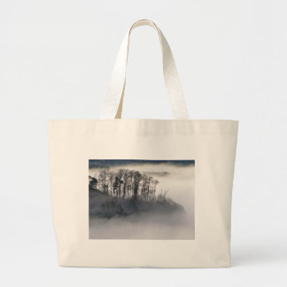 Island in the Morning Mist Tote Bag