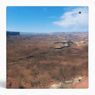 Island in the Sky Canyonlands National Park Utah 3 Ring Binder
