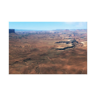 Island in the Sky Canyonlands National Park Utah Canvas Print