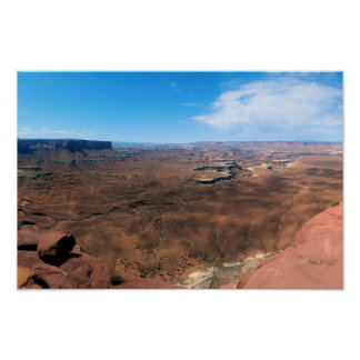 Island in the Sky Canyonlands National Park Utah Poster