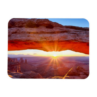 Island in the Sky Rectangular Photo Magnet
