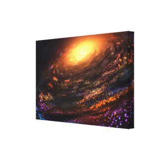 Island in the Void Canvas Print