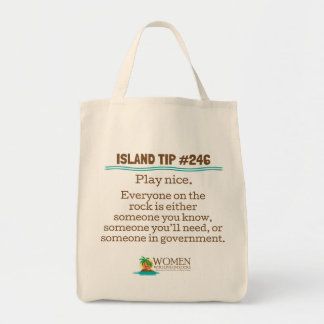 Island Insider's Canvas Eco Bag #246