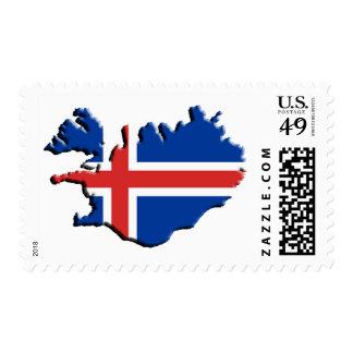 Ísland, Islandia, Sellos