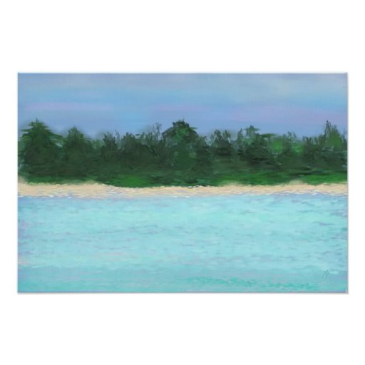Island Landscape ©jlp Poster